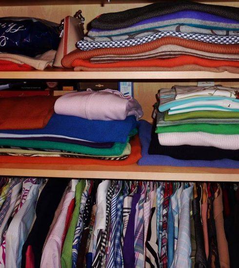 Как да съхранявате правилно дрехите си?